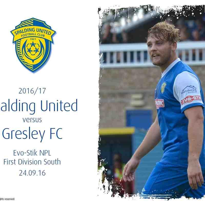 2016/17 : SUFC v Gresley FC (24.09.16)