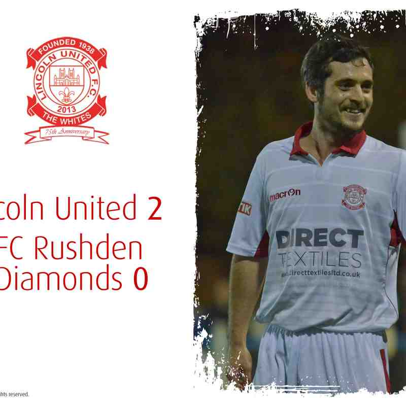 2016/17 : Lincoln United v AFC Rushden & Diamonds (15.11.16)