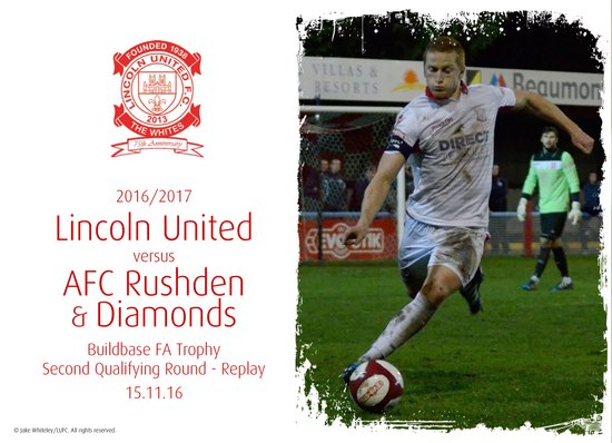 2016/17 : Lincoln United v AFC Rushden & Diamonds (15.11.16)
