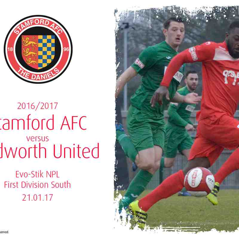 2016/17 : Stamford AFC v Bedworth United (21.01.17)