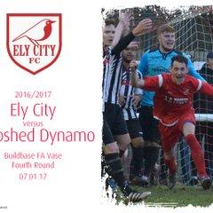 2016/17 : Ely City v Shepshed Dynamo (07.01.17)