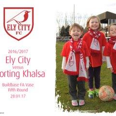 2016/17 : Ely City v Sporting Khalsa (28.01.17)