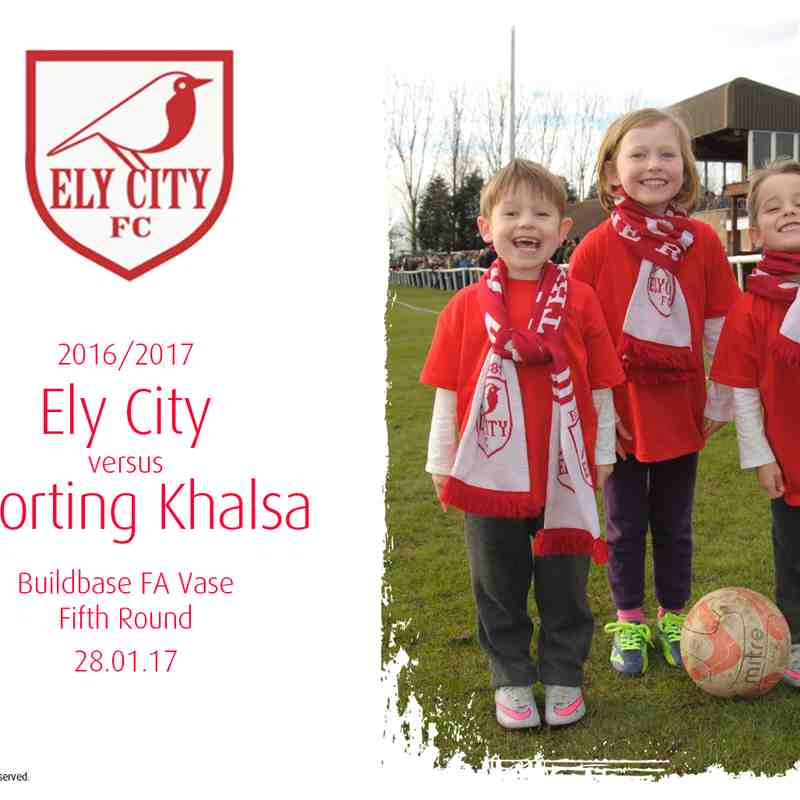 2016/17 : Ely City v Sporting Khalsa (28.01.17)