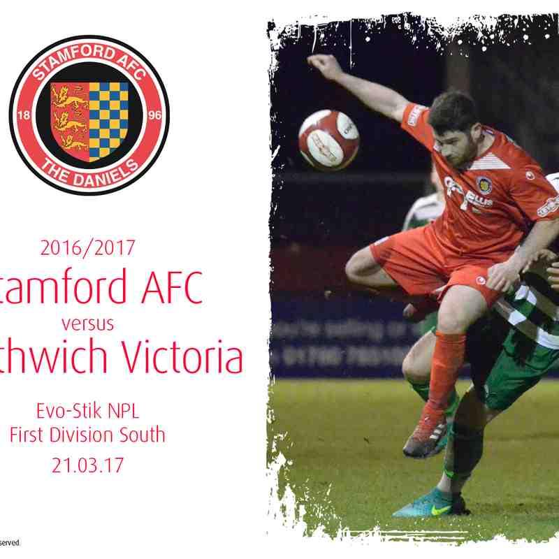 2016/17 : Stamford AFC v Northwich Victoria (21.03.17)