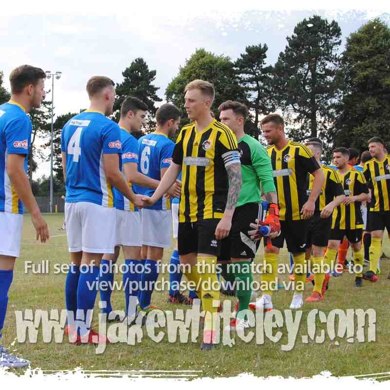 2018/19: Holbeach United v Spalding United (17.07.18)