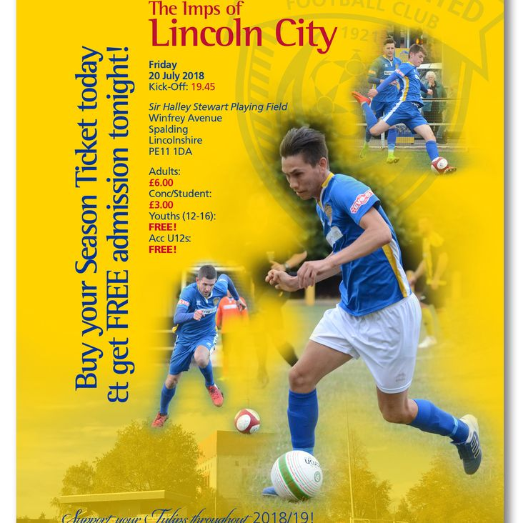 Join Us For Tulips v Imps Cup Action TONIGHT!<