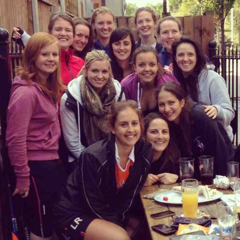 Wapping Ladies 6 - 2012-2013