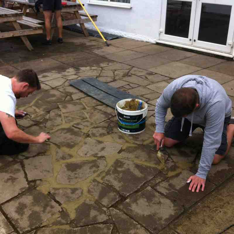 Clubhouse Working Party 2015