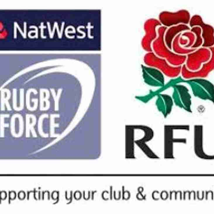 NatWest RugbyForce 2019 is coming to Camelot