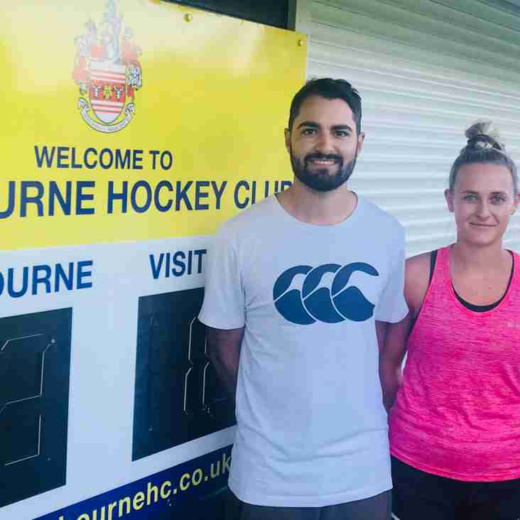 Kevin Johnson and Theo Dowse appoint to coach Eastbourne ladies