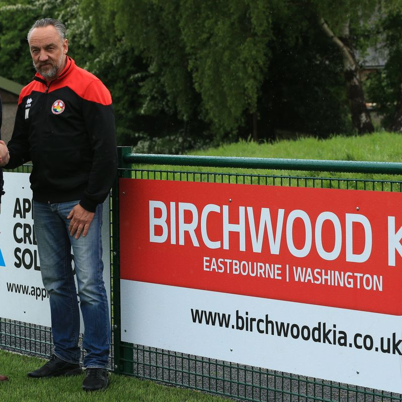 Steyning Town Community FC secure new ground sponsorship deal