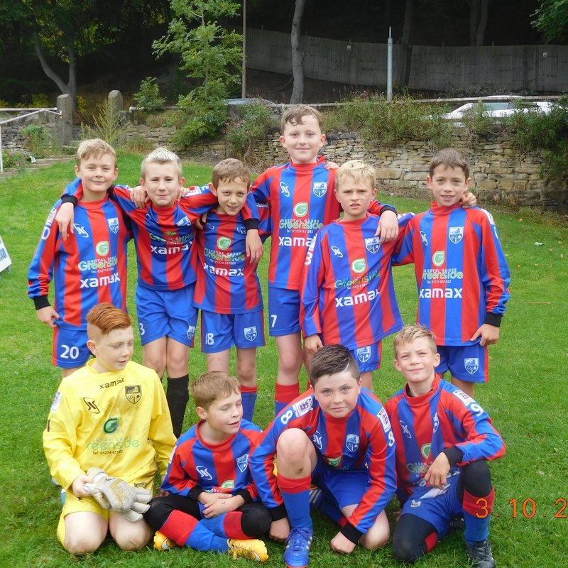 Under 11 Blues lose to Howden Clough 3 - 4