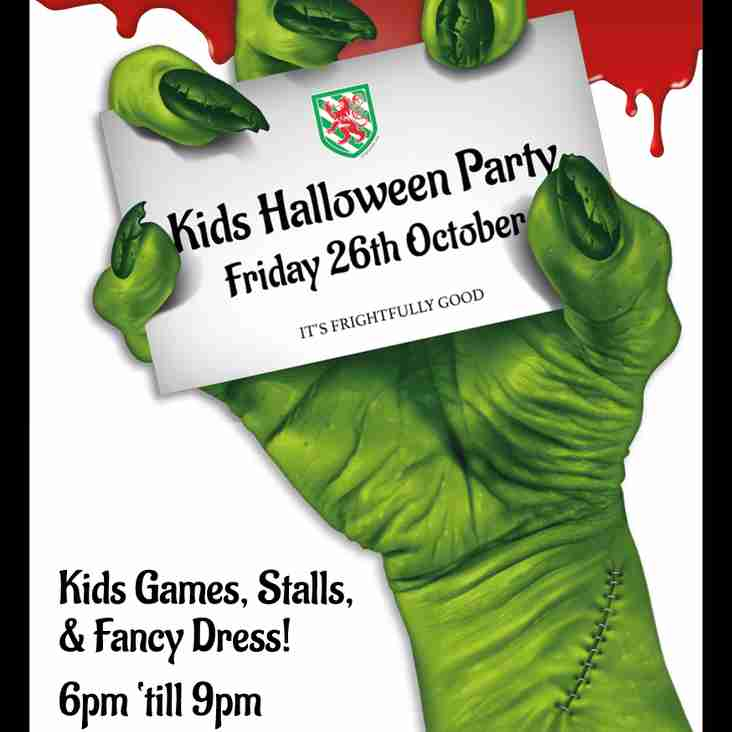 Kids Halloween Party: This Friday!