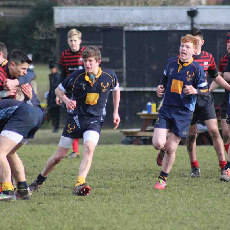 Teddington U15 VS Sarcens 2015