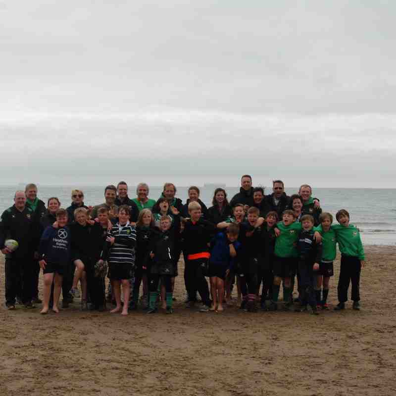 U11's on Tour - Beach Fun