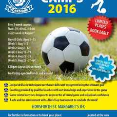SPORTS COACHING AT HORSFORTH SPORTS CLUB (SUMMER CAMPS)