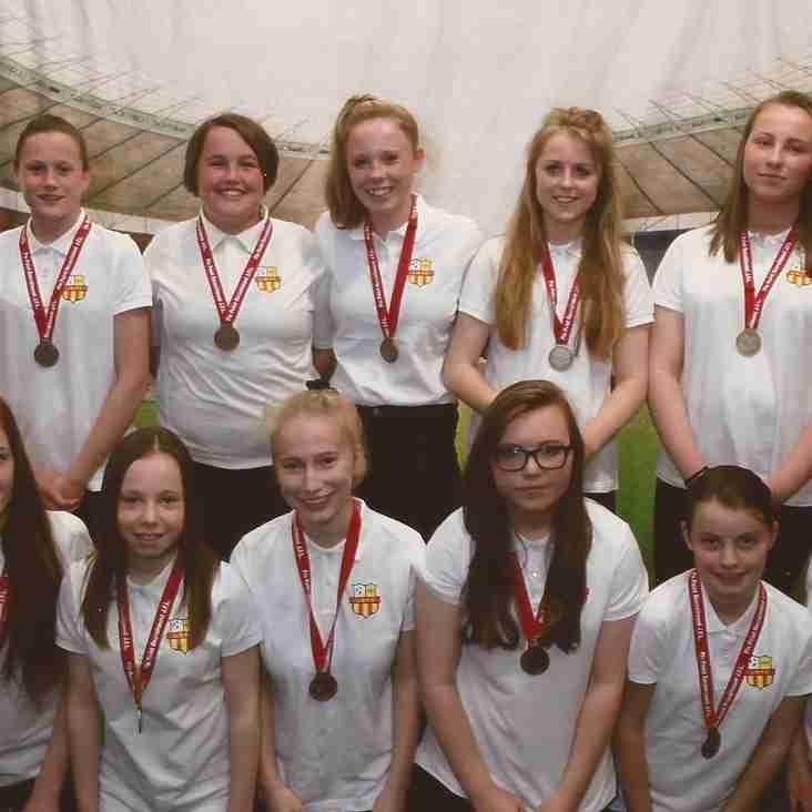 Completion of U15 Girls Season 2014/15