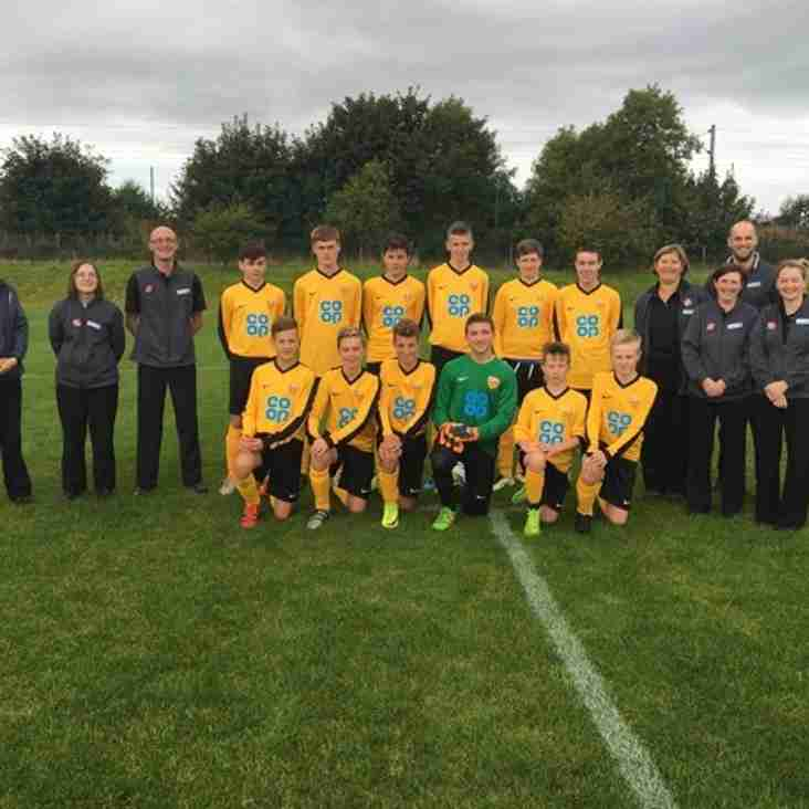 U15 Sponsors CO OP for season 2016-17