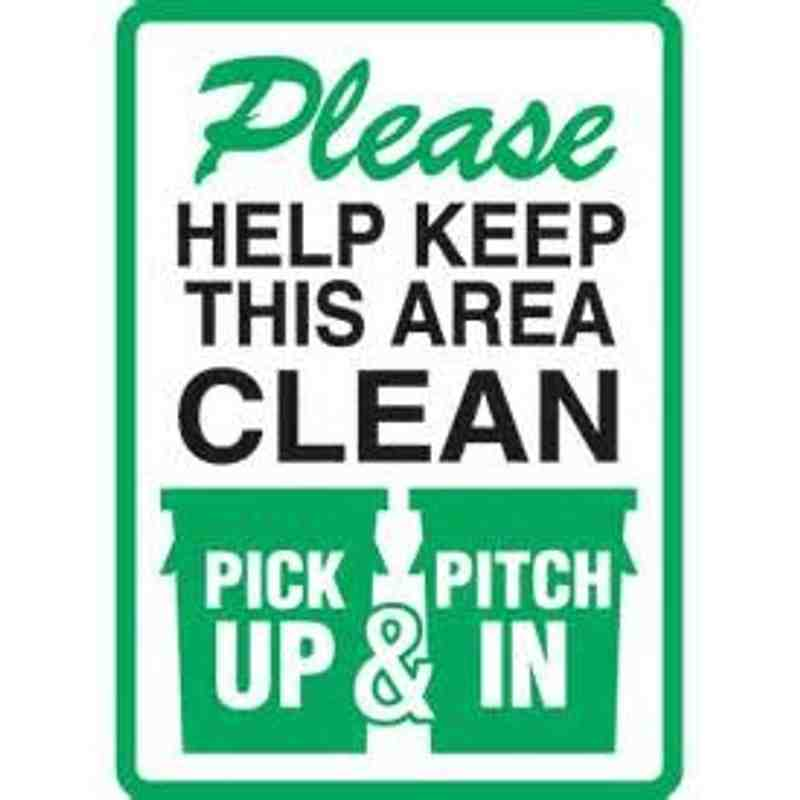 Keep Westfield Park Tidy