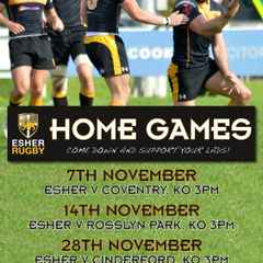 Home Games for November