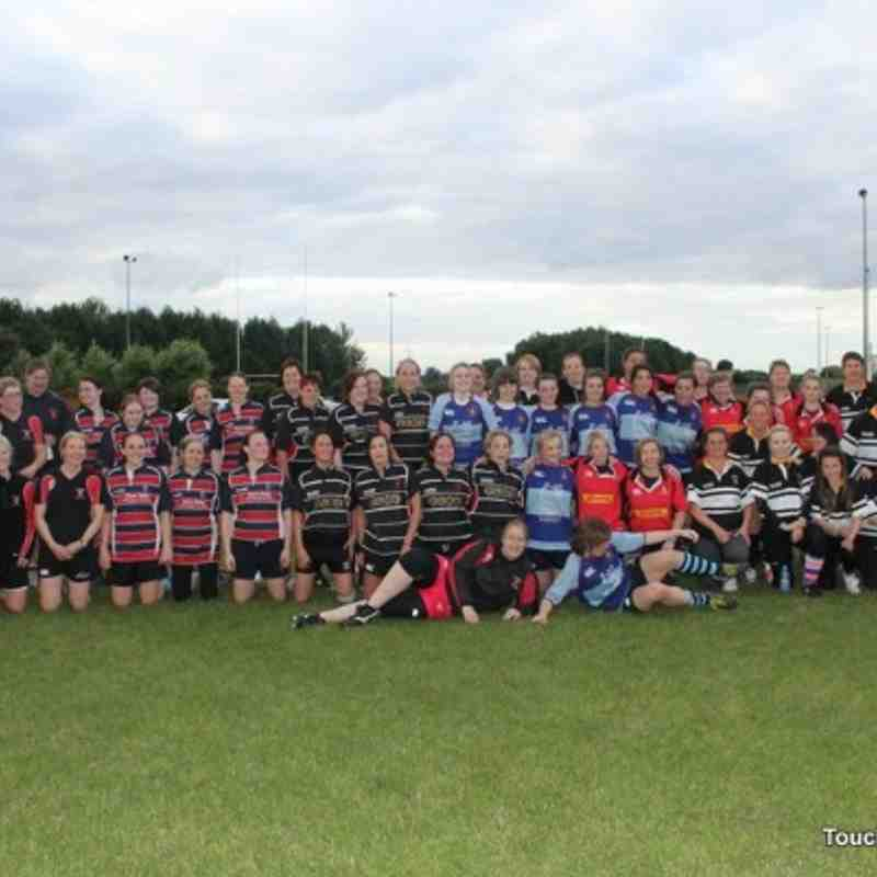 Ladies Touch Rugby at Kingston Park