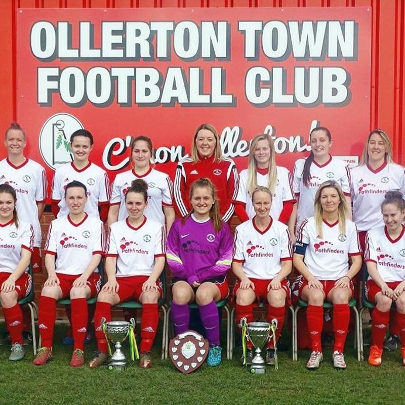 Ollerton Town Ladies FC beat Arnold Town Development 0 - 9