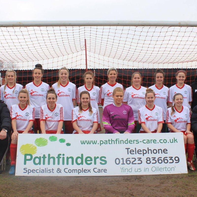 Ollerton Town Ladies FC beat Eastwood Ladies CFC 5 - 0