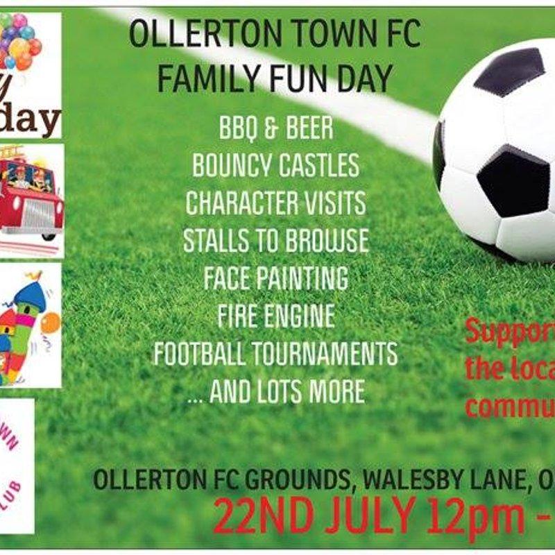 Ollerton Town FC Family Fun Day!