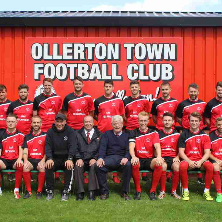 Ollerton Town 2017-2018 Season Review