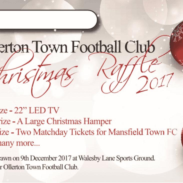 Ollerton Town 2017 Christmas Raffle!