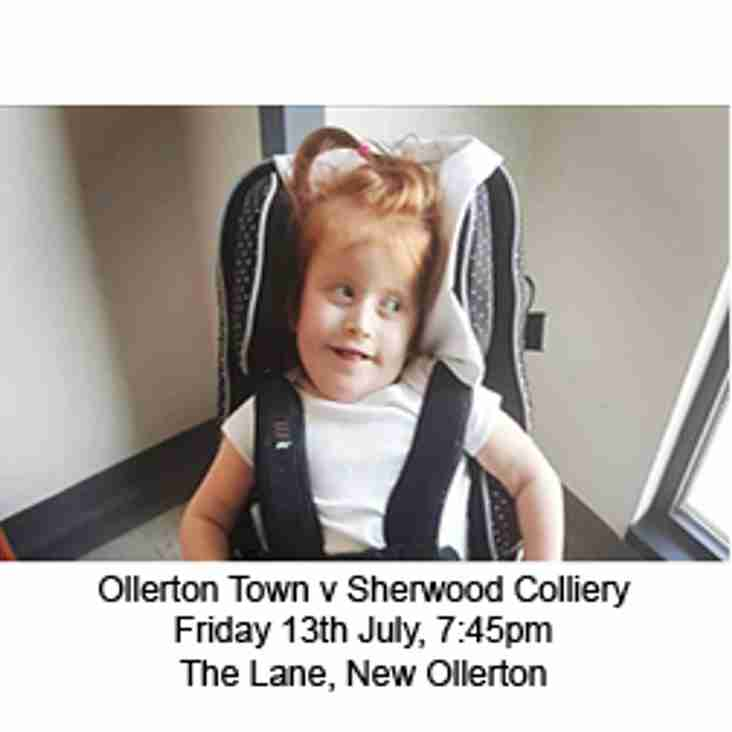 Ollerton and Sherwood Team Up to #PlayForPiper!