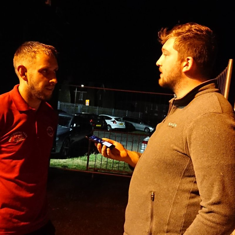 Ollerton Town 3-6 Selby Town Interview: Gav King