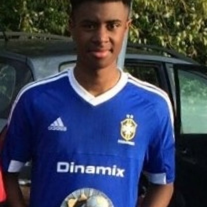 Shay off to the milk cup
