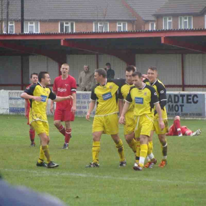 Saturday 28th April 2012 - Egham Town v Farnham Town (Combined Counties Premier Divison)