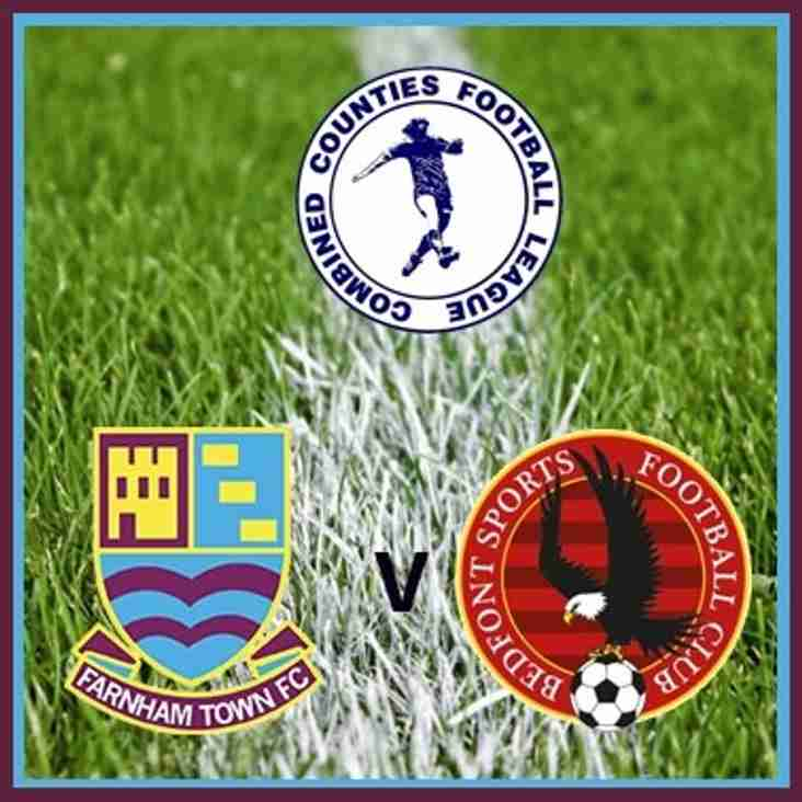 Match Preview: Farnham Town v Bedfont Sports