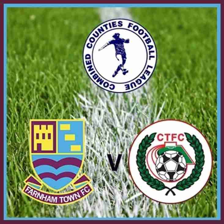 Match Preview: Farnham Town v Camberley Town