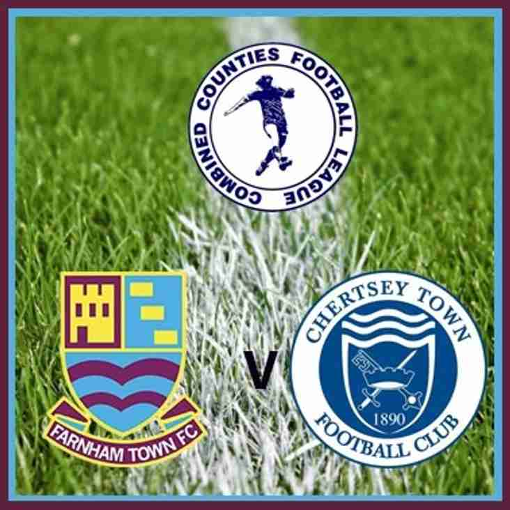 Match preview: Farnham Town v Chertsey Town