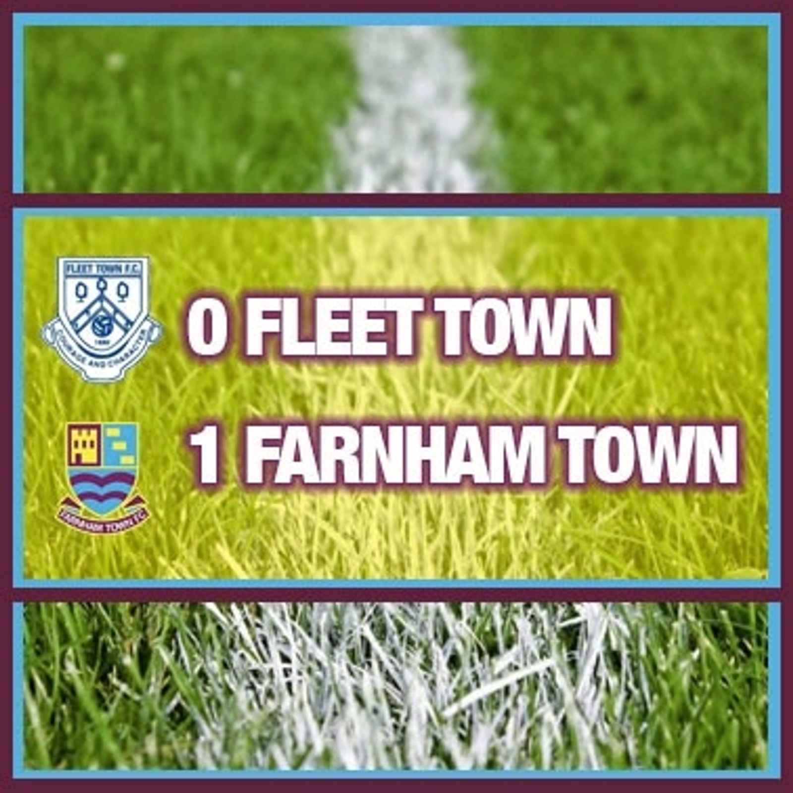 Fleet Town 0-1 Farnham Town