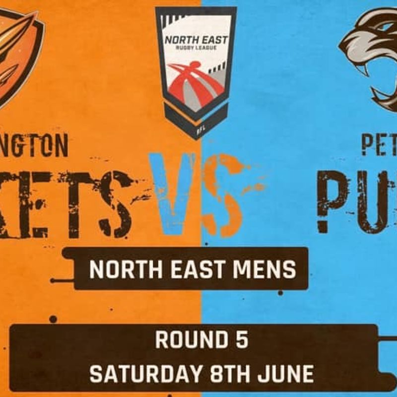 Cramlington Rockets 1st XIII vs. Peterlee Pumas