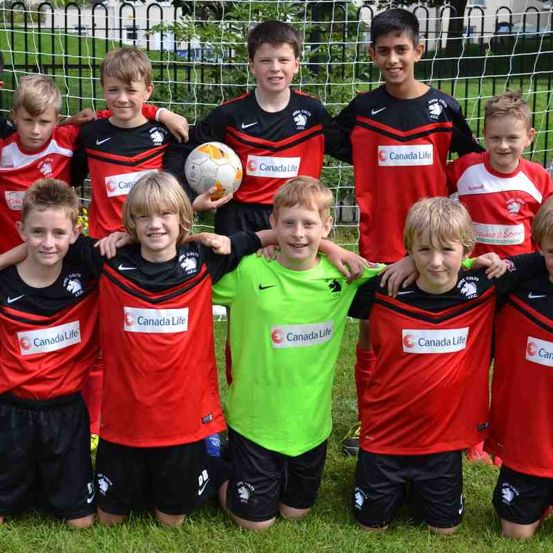 Meet the Team! - U11's 9-a-side 2015/16