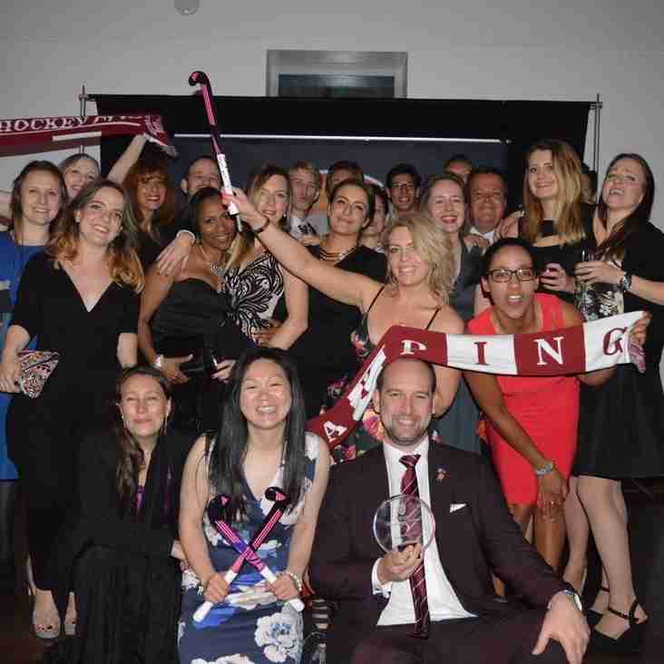 Wapping strike Gold in England Hockey Awards