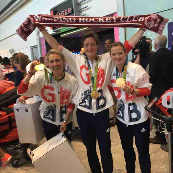 Olympic Gold medallists Webb, McCallin & Twigg join Wapping