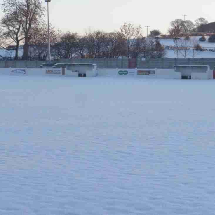 Thackley Under 21's v Harrogate Town Under 21's - Match Postponed.