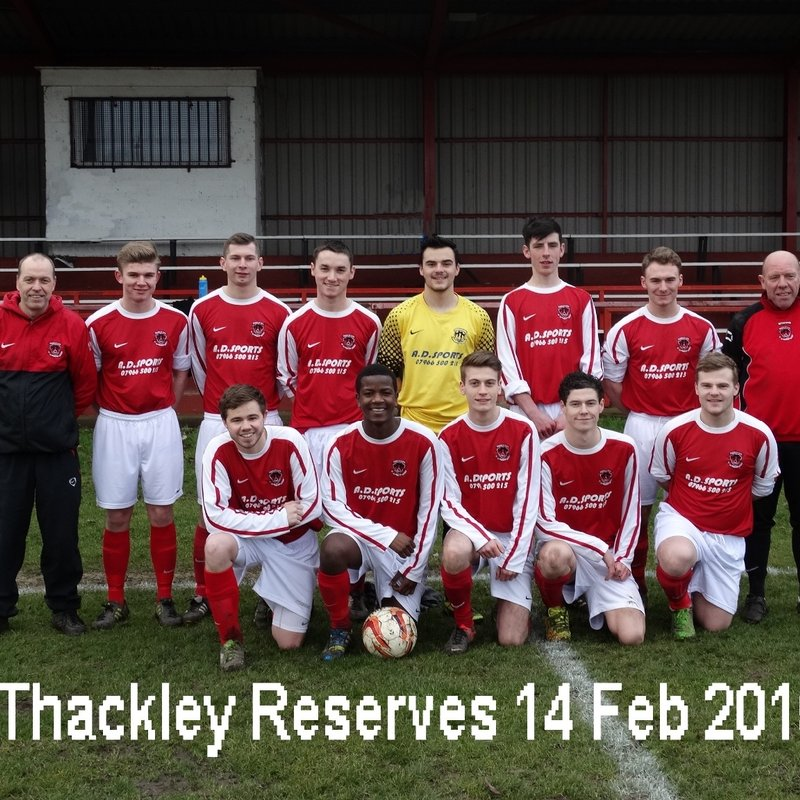 Reserves beat AFC Emley 9 - 1