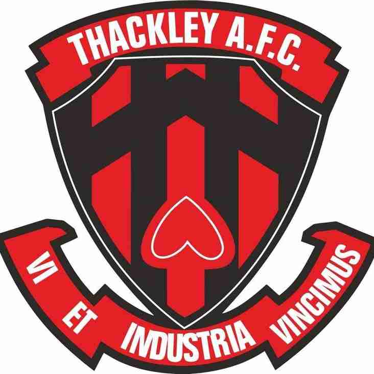 Saturday Is Sponsor's Day At Thackley