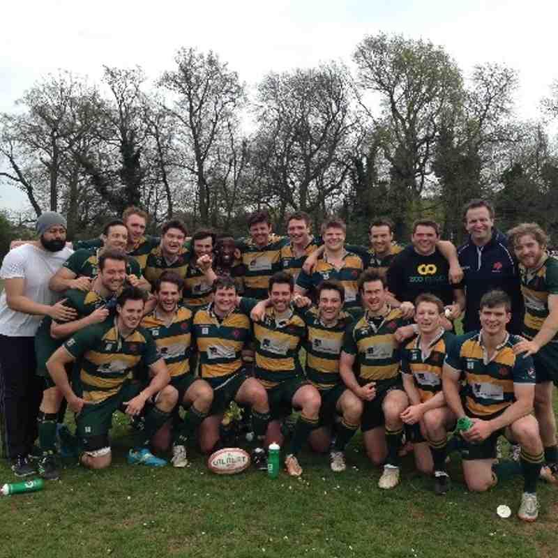 Barnes 2s League Winners at Westcombe Park