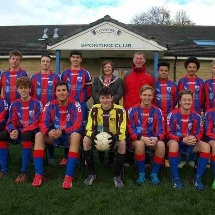 Battyeford Athletic say thank you for the new kit!