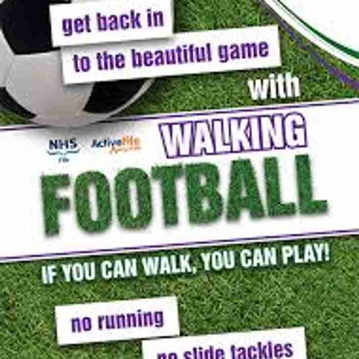 WALKING FOOTBALL COMING TO BATTYEFORD