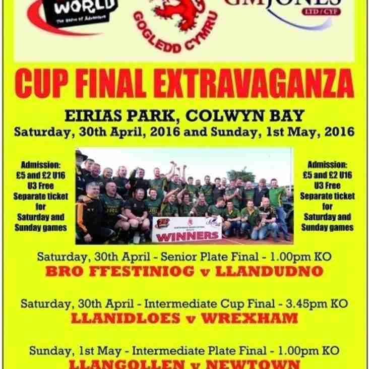 Wrexham senior team make North Wales Intermediate cup final