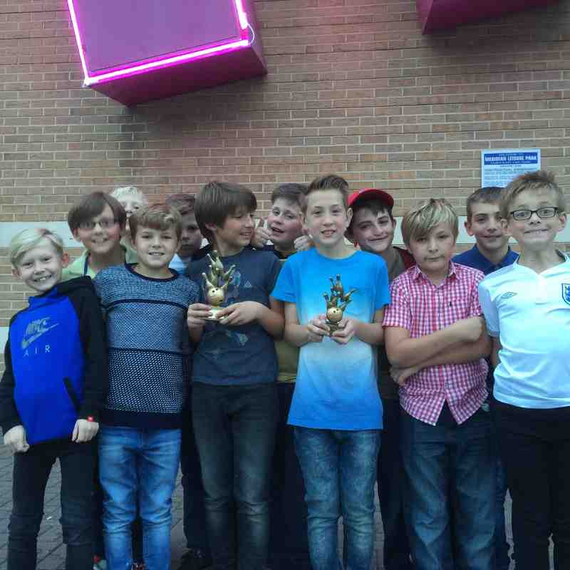 U11 Tigers Bowling 10th Oct 2015